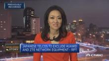 Japan's top three telco firms exclude Huawei and ZTE from...