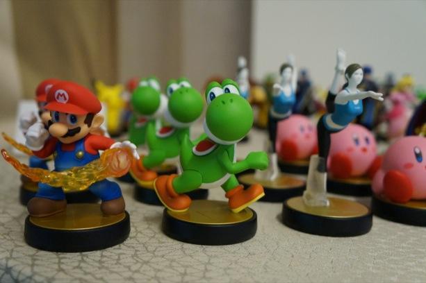 Super Smash Bros. Amiibo figures are part trophy, part protégé