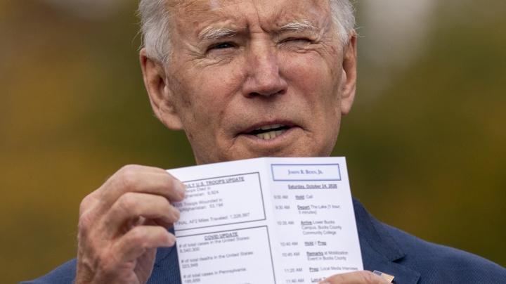 Biden has a lead? Dems are still worried