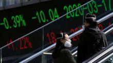 Índices acionários da China fecham em baixa com realização de lucros