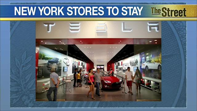 Tesla Strikes Deal to Keep Existing Retail Stores in New York