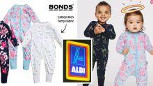 'So excited': Aldi mums set to swarm on $10 Bonds bargain