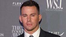 Channing Tatum poses completely nude after losing a bet to Jessie J