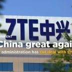 Source: Trump administration has cut deal with China's ZTE