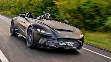 ASTON MARTIN開篷超跑V12 Speedster原型車展開最終道路測試,即將量產且明年春交車