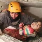Turkey earthquake: Two-year-old pulled from rubble as death toll rises to 38