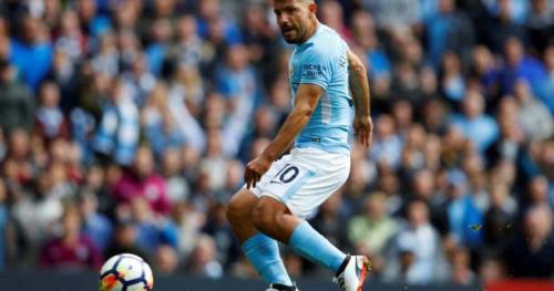 Foot - ANG - City - Manchester City : Sergio Agüero s'est entraîné normalement jeudi et se dit «prêt» à jouer samedi contre Stoke