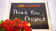 The Sunrise Thank You Project