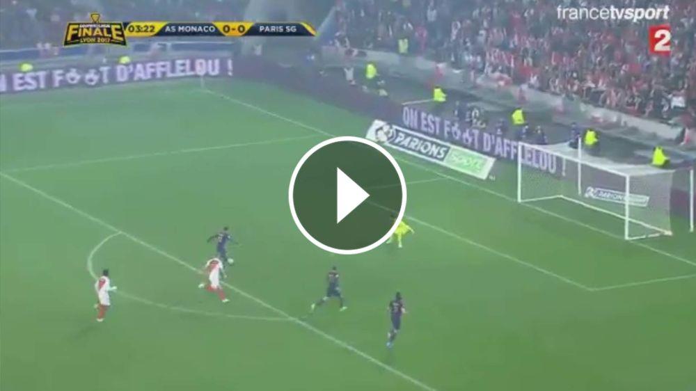VIDEO: Hermosa asistencia de Di María y golazo de PSG