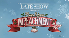 Stephen Colbert airs Christmas special 'Once Upon Impeachment'