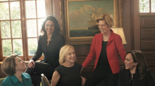 Female presidential candidates pose for Vogue shoot with a notable absence: 'Where's Marianne Williamson?'