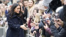 Meghan Markle has the whole royal thing down during first official outing with Prince Harry
