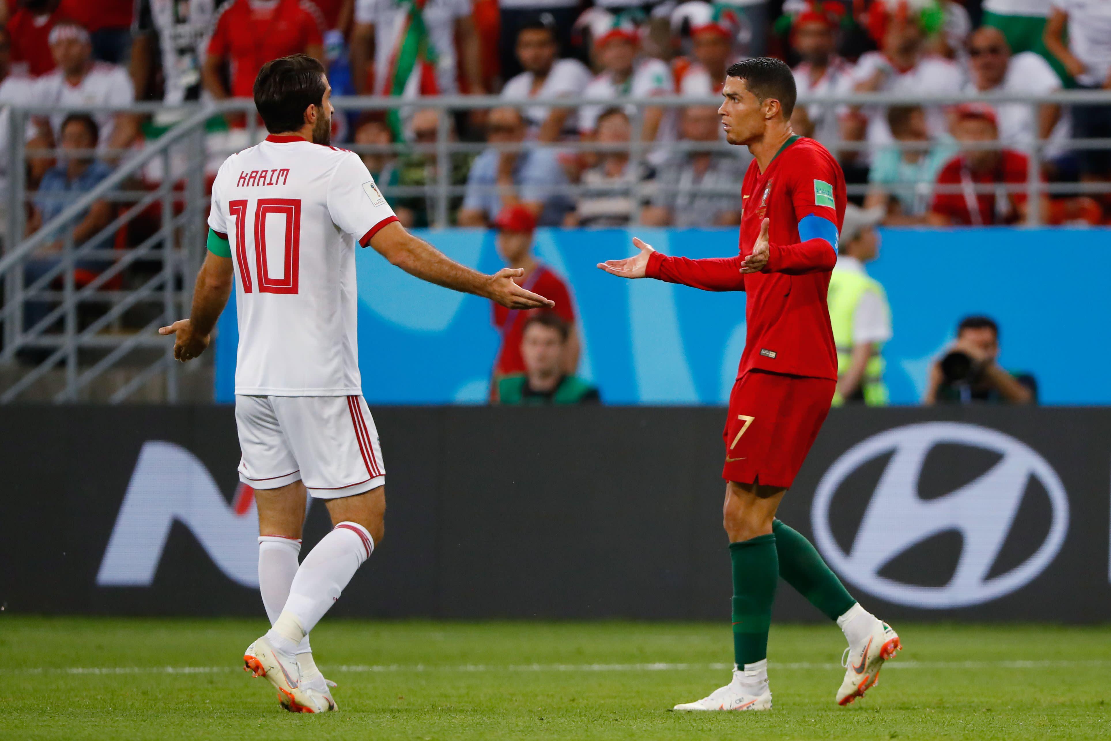 22b15ef38a Portugal cede empate ao Irã no fim