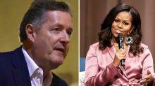 Piers Morgan criticises Michelle Obama for 'trash-talking' Melania Trump