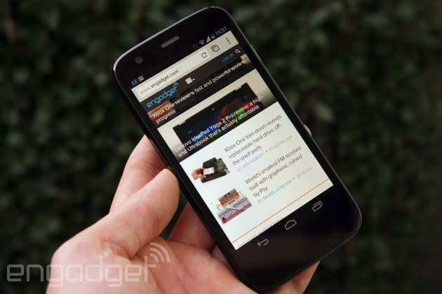 Motorola adds LTE and microSD support to the Moto G