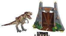 LEGO is launching its biggest ever 'Jurassic World' Tyrannosaurus rex