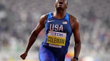 U.S. sprinter Christian Coleman won't be allowed to run in Olympics