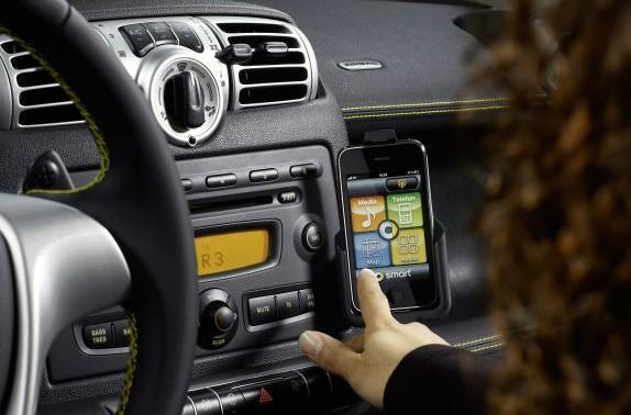 Smart Car's Smart Drive Kit for iPhone demonstrated (video)