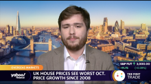 UK house prices see worst October price growth since 2008