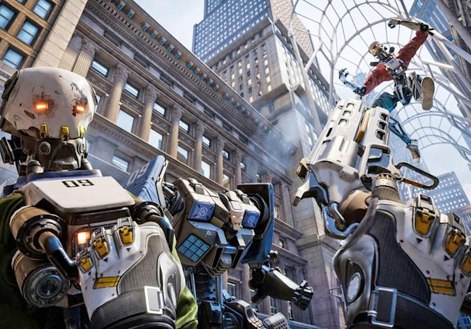 'Robo Recall' for Oculus Touch is fun, frantic and completely free
