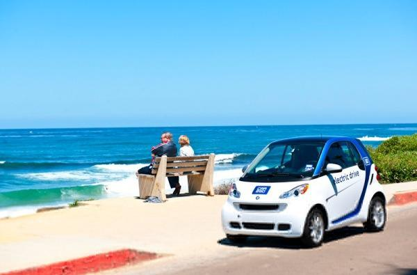 Car2go brings North America's first all-electric carsharing program to San Diego