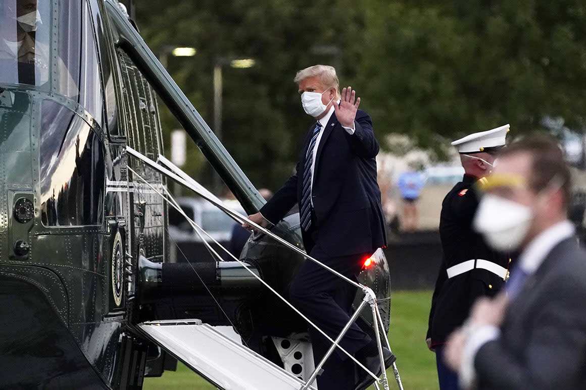 Trump claims his Covid treatment means a cure is imminent