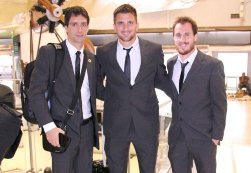 Guaraní llegó a Porto Alegre para jugar por la Copa