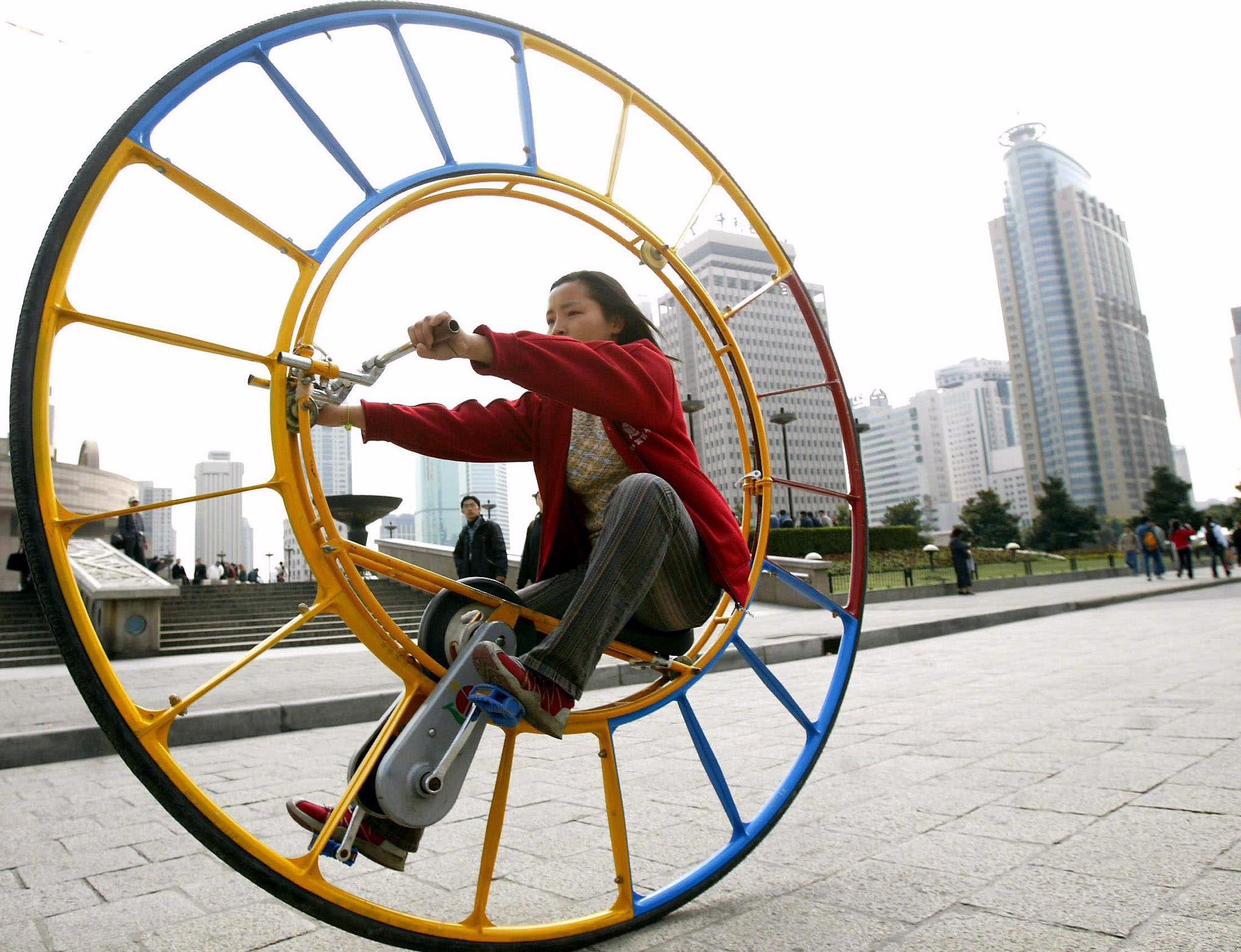 Unusual modes of transportation