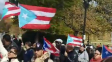 Hundreds Rally to Support Puerto Rico in Washington