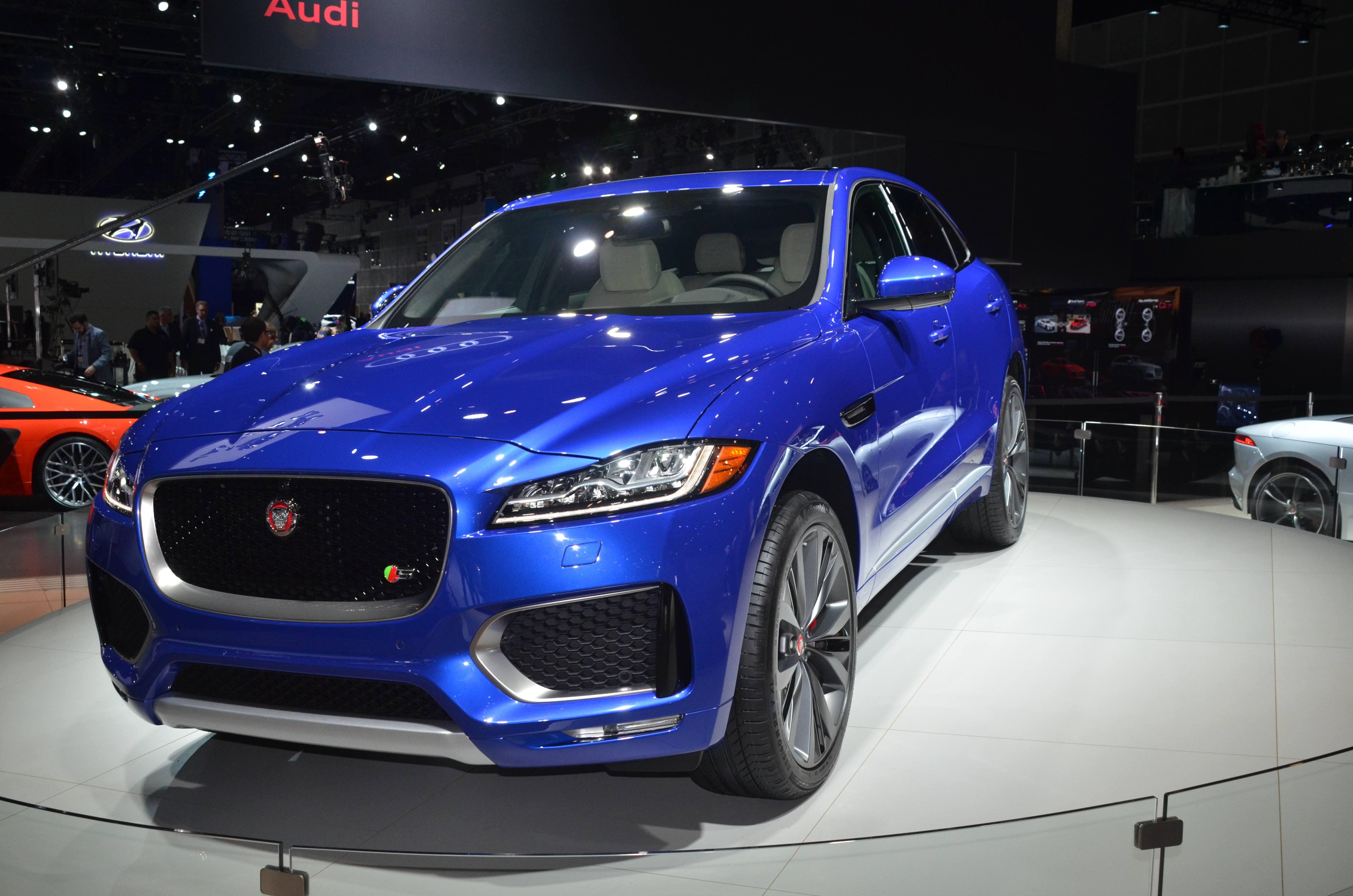 the roadshow vendor new svr jaguar crams its f news into pace horsepower debuts suv