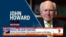 John Howard comments on NZ gun ban policy
