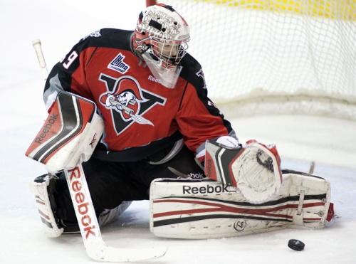 Drummondville's Louis-Philip Guindon will have to be a major player if the Volts hope to knock off the Val-d'Or Foreurs. (Ghyslain Bergeron / CP)