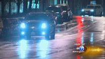 Road conditions deteriorate as wintry mix moves across Chicago