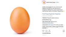 Instagram egg breaks records