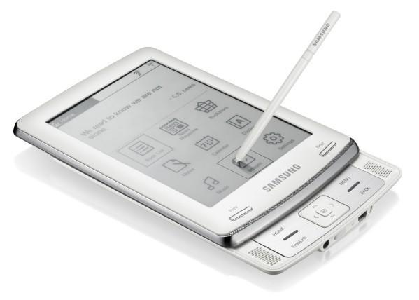 Samsung E60 e-reader coming with Barnes and Noble content this spring for $299