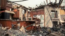 Charred homes and crumbled walls: tallying the destruction of a California wildfire