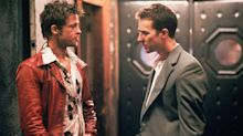 Stoned Brad Pitt and Edward Norton giggled throughout Fight Club's disastrous premiere