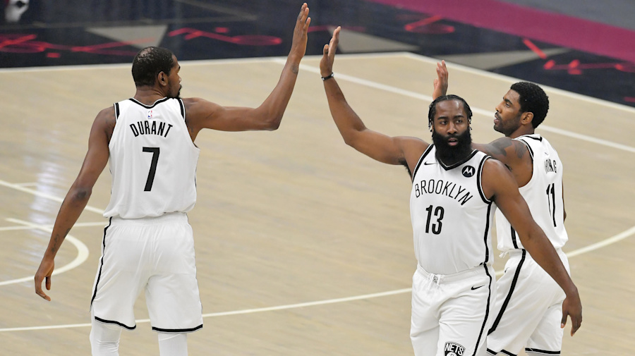 Debut of Nets' Big 3 is a losing one in 2OT