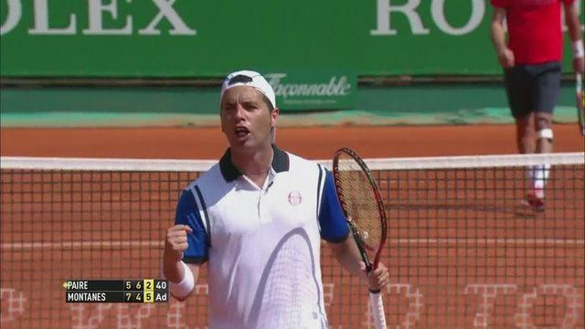 Wins for Stepanek, Fognini and Montanes at the Monte Carlo Masters
