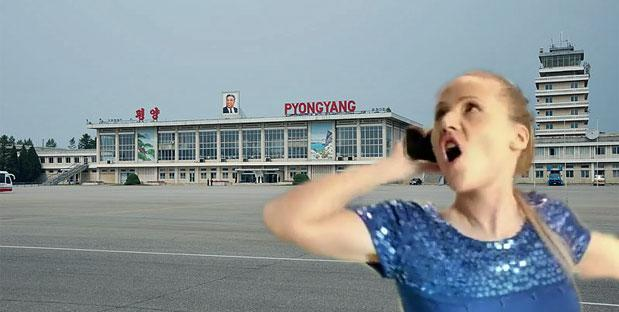 North Korea allows tourists to rent phones or SIM cards, but doesn't include internet