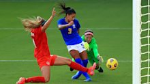 Debinha on target as Brazil beat Canada in last SheBelieves match