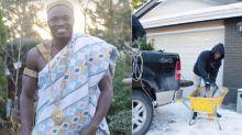 De jardinero en Canadá a rey en África: la inspiradora historia de Eric Manu