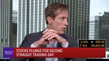Stocks plunge for second straight trading day