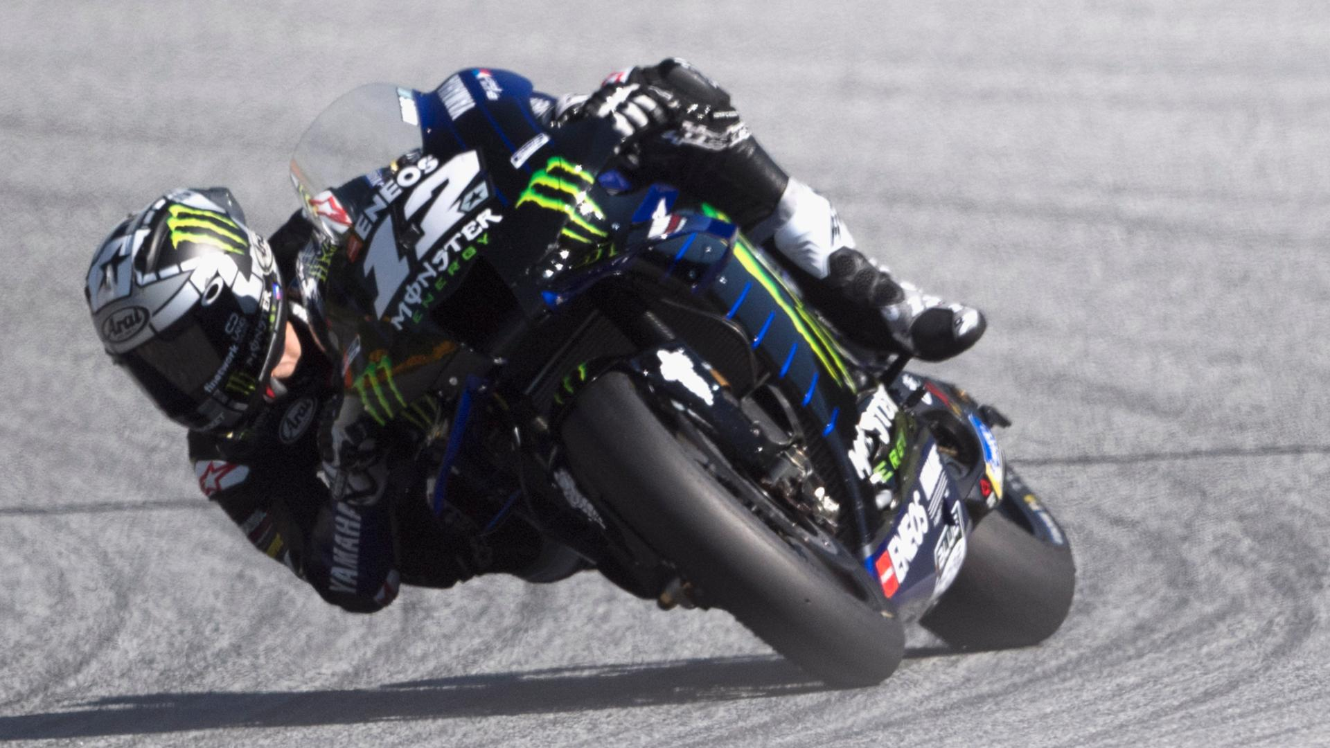 Motogp 2020 Exploded Brake Unlike Anything Vinales Has Faced Before