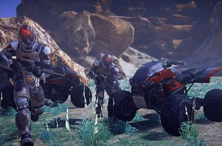SOE shows off PlanetSide 2's Quad and Liberator