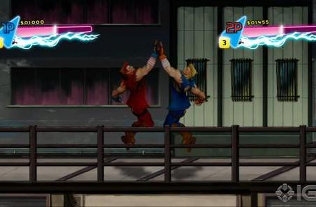 WayForward adds a dose of Neon to Double Dragon for XBLA and PSN