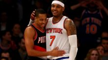 Ace recruiter CJ McCollum thinks Carmelo Anthony is 'interested' in Blazers
