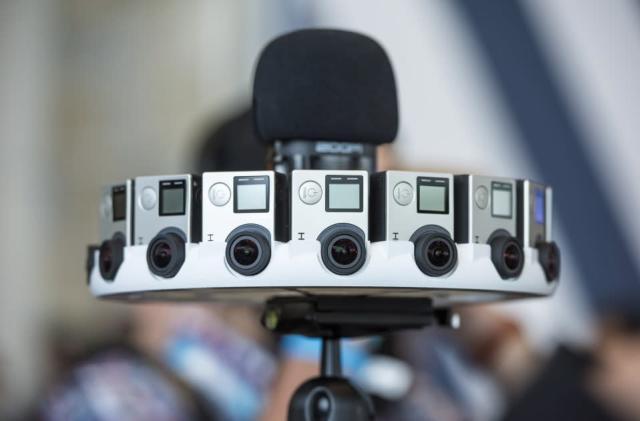 Fancy testing Google's GoPro VR camera rig?