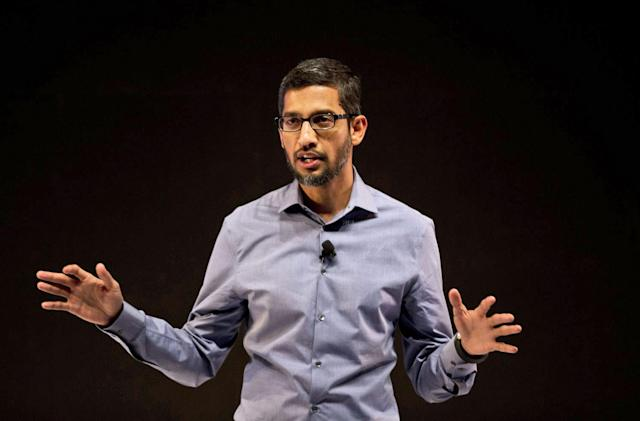 Google's Sundar Pichai latest target of social media hackers (updated)