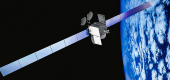 Spaceway-1 satellite. (Boeing)